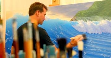 Artist Painting 1